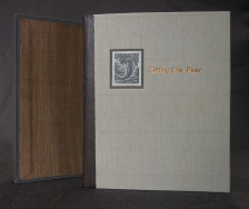 Killing the Bear by Judith Minty, deluxe edition binding & slipcase