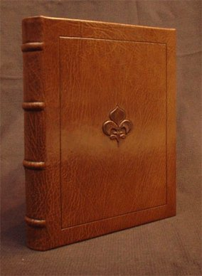 Custom bound journal, commissioned work