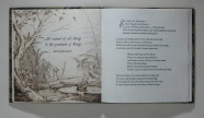 opening spread for the Frogs Who Wished A King by Aesop