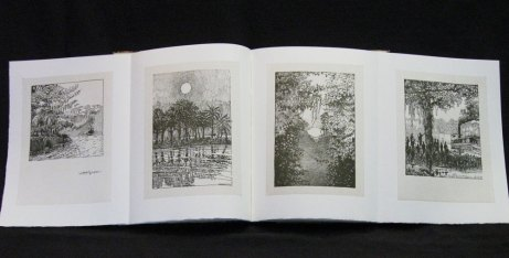Double throw-out page spread from Heart of Darkness