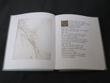 Opening spread from Changeling's Exile