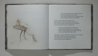 Page spread from The Frogs Who Wished A King by Aesop, versified by Clara Dotty Bates.