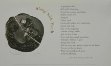 Along with Youth by Ernest Hemingway broadside