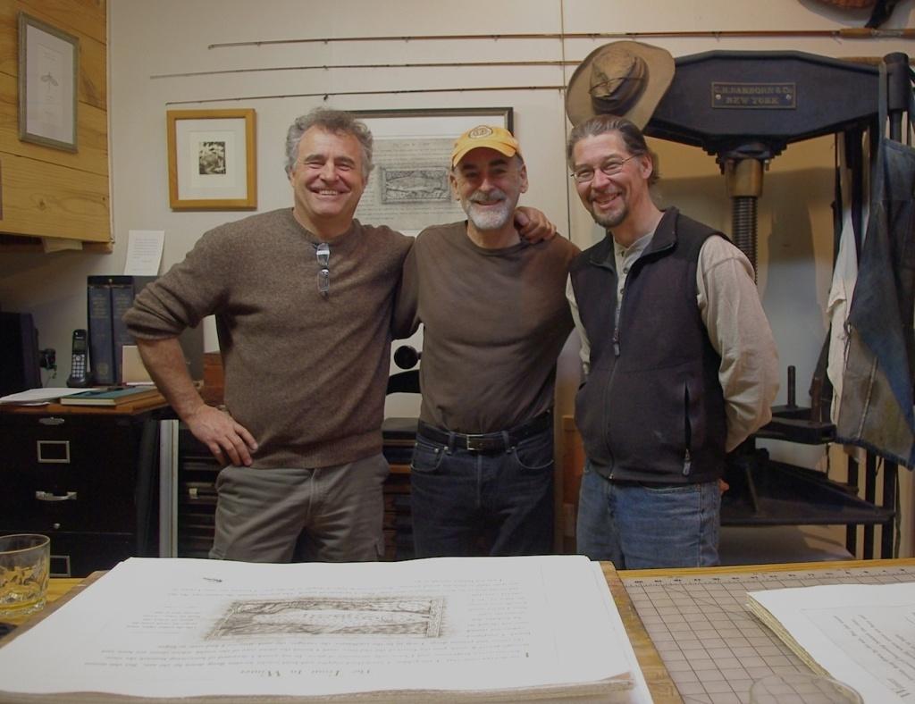 Jerry Dennis, Glenn Wolff & Chad Pastotnik