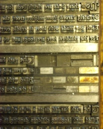 type detail