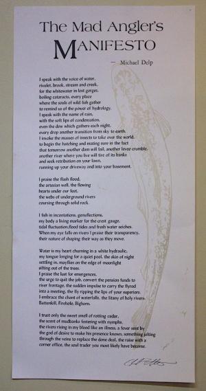 Secondary edition. The Mad Angler's Manifesto
