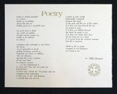 Poetry by Nikki Giovanni