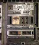 title page letterpress lock-up
