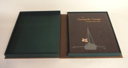 Presentation binding for John Smith book